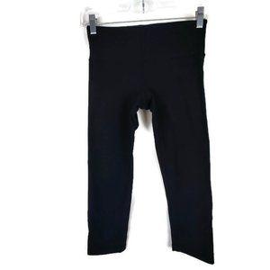 Lululemon Black Crop Leggings Size: 4